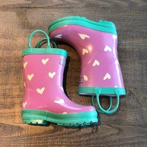 Toddler girl rain boots☔️